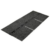 Bardeaux Aquaplan easyshingle 2 m² standard noir