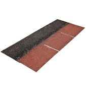 Bardeaux Aquaplan easyshingle 2 m² standard rouge