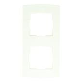 Plaque de finition simple Profile blanc