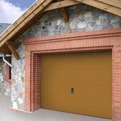 Porte de garage Wayne Dalton 250x212,5 cm chêne (sans encadrement 318564)