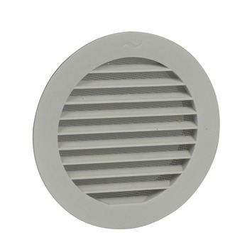 Grille de ventilation IVC Air 125 mm blanc
