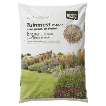 Engrais universel pour gazon et jardin Greenway 10 kg