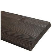 Bois de récupération sapin brun 32x200 mm 250 cm