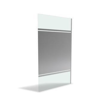 Aurlane Parma 2 douchewand spiegelglas 200x120 cm
