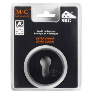 Rosace pour cylindre SKG M&C noir/alu