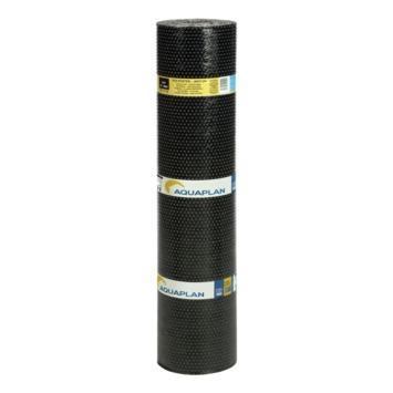 Aquaplan dakbedekking anti-uv polyester app 4t-mmp 10x1m zwart