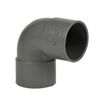 Coude 90° Martens 40 mm gris