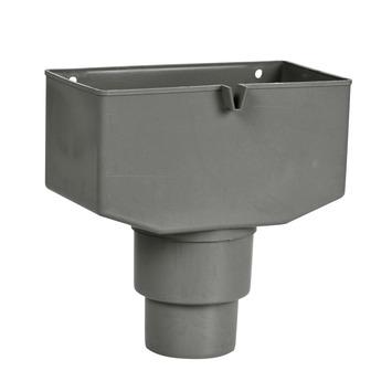 Bac collecteur et trop-plein Martens diam. 80-100 mm gris