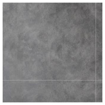 Dumawall + kunststof wandtegel 37,5x65 cm 1,95 m² mystic dark grey