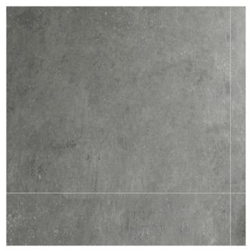 Dumawall + kunststof wandtegel 37,5x65 cm 1,95 m² gepolierd beton lichtgrijs