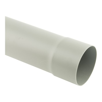 Tuyau 90 mm x 1 m 1,8 mm gris