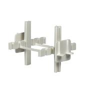Croisillons décor pour briques de verre, blanc