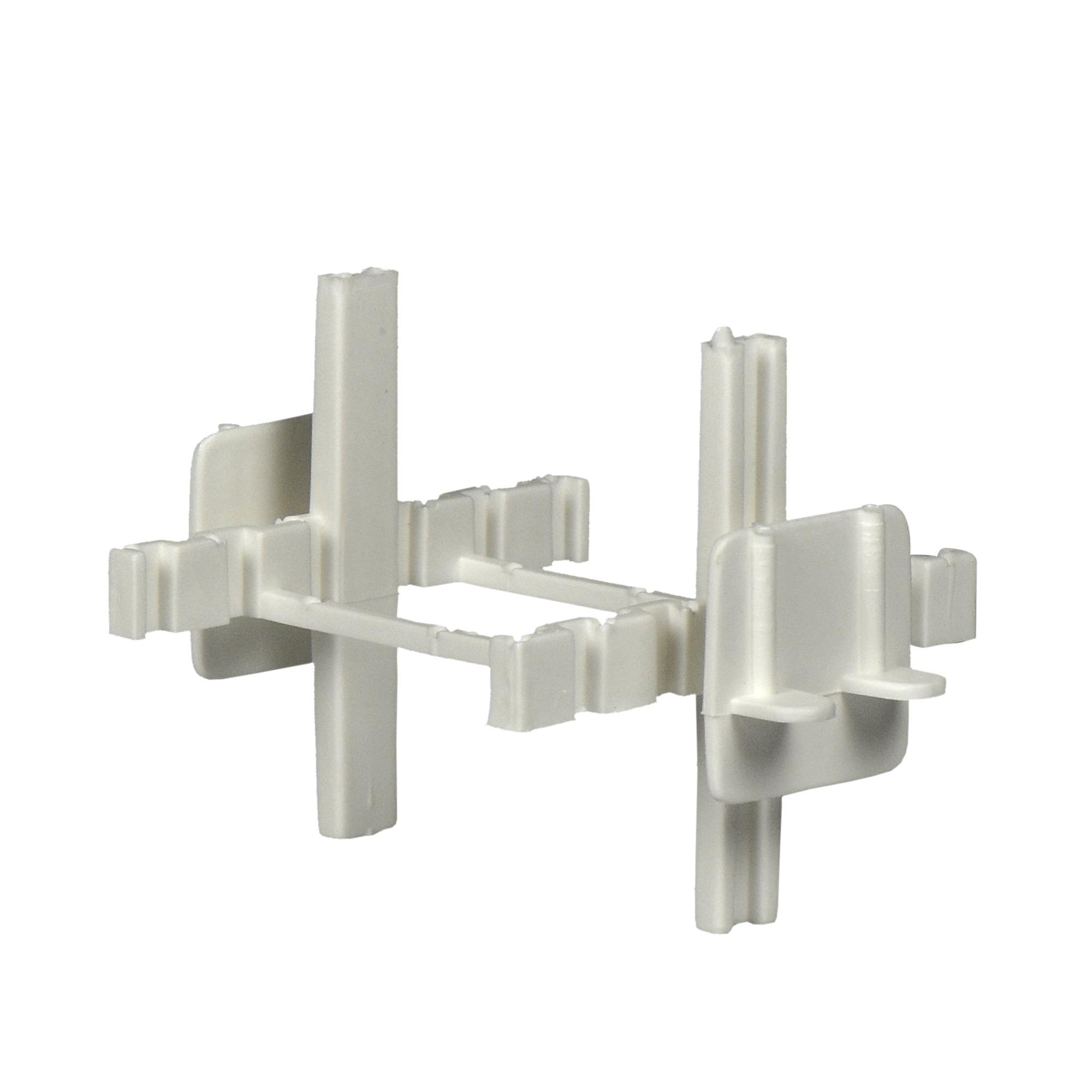 Croisillons d cor pour briques de verre blanc briques for Mortier pour brique de verre