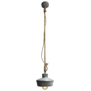 Brilliant hanglamp Davy betongrijs
