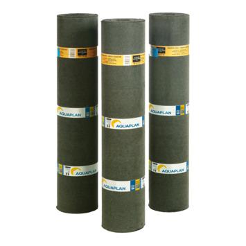 Aquaplan dakrol bitumen 10x1m zwart