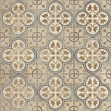 Dalle De Terrasse Mosaique 60x60x4 cm Beige -0,36 m2/dalle