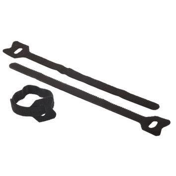 Lien pour câble Fix-O-Moll 15 cm 8 mm noir 6 pièces