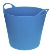 Emmer flexibel 40 L lichtblauw