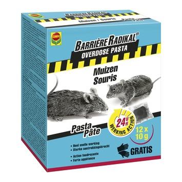 Compo Barrière Radical Overdose pasta tegen muizen 120 g