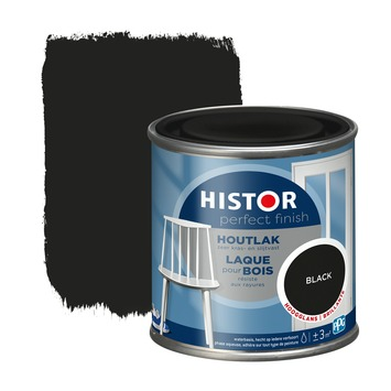 Histor Perfect finish laque bois haute brillance 250 ml black