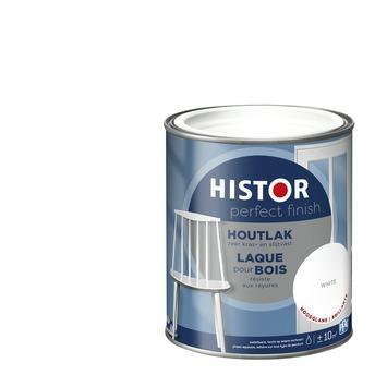 Histor Perfect finish houtlak hoogglans 750 ml white