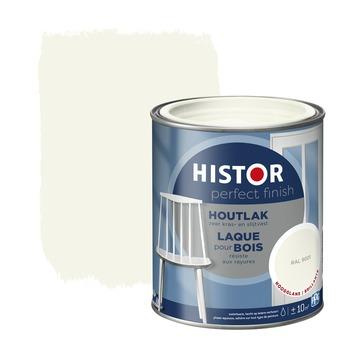 Histor Perfect finish houtlak hoogglans 750 ml RAL 9001
