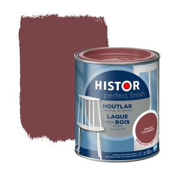 Histor Perfect finish houtlak hoogglans 750 ml crazed cranberry