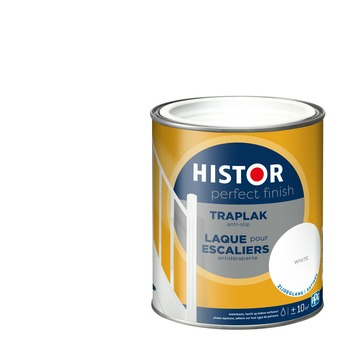 Histor Perfect finish traplak zijdeglans 750 ml white