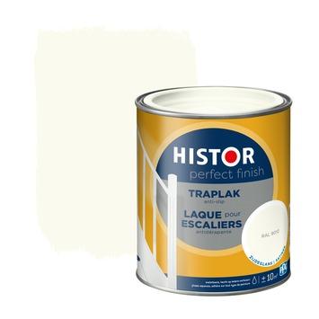 Histor Perfect finish traplak zijdeglans 750 ml RAL 9010