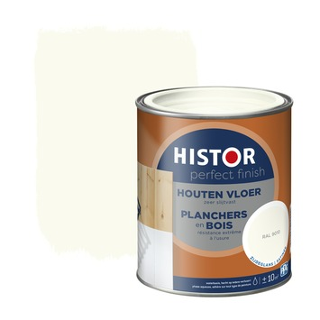 Histor Perfect finish houten vloer zijdeglans 750 ml RAL 9010