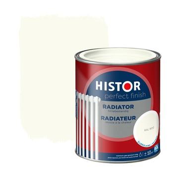 Histor Perfect finish radiator zijdeglans 750 ml RAL 9010