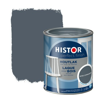 Histor Perfect finish houtlak zijdeglans 750 ml wing commander