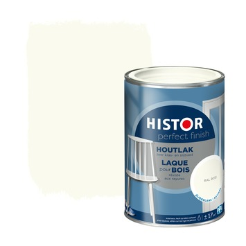 Histor Perfect finish houtlak zijdeglans 1,25 L RAL 9010