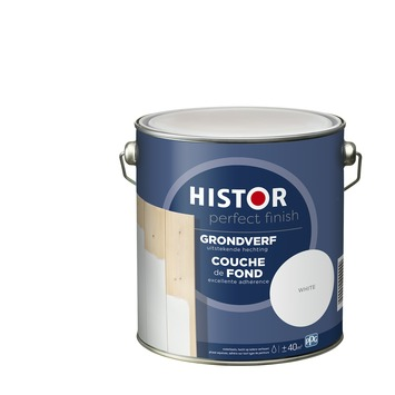 Histor Perfect finish primer 2,5 L white