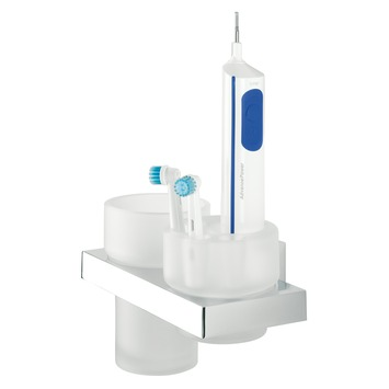 Tiger Items beker-/tandenborstelhouder chroom