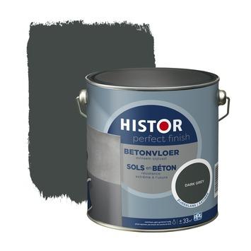 Histor Perfect finish betonvloer zijdeglans 2,5 L dark grey