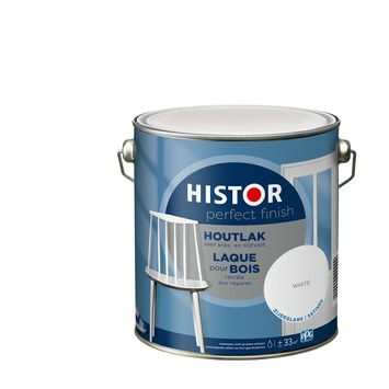 Histor Perfect finish laque bois satin 2,5 Lwhite