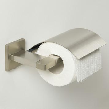 Tiger Items toiletrolhouder met klep inox