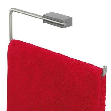 Tiger Cliqit handdoekring grijs/inox