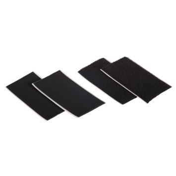 Power-Strips scratch Fix-O-Moll adhésif 90x50 mm noir