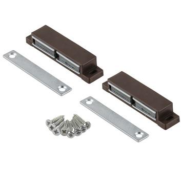 Suki Magneetsluiting met vaste plaat 10 kg bruin