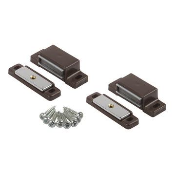 Suki Magneetsluiting met beweegbare plaat 4 kg bruin