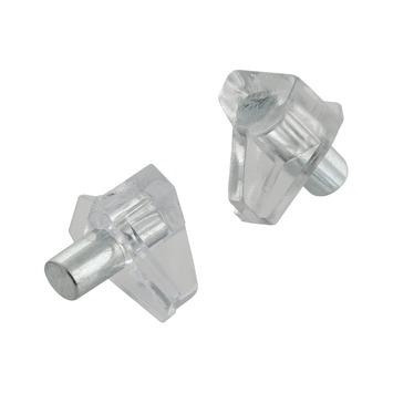 Suki Kastplankdragers transp/metaal 5 mm 8 stuks