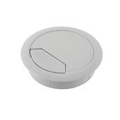 Guide-câble Suki 60 mm plastique gris