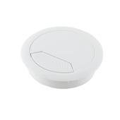 Guide-câble Suki 60 mm plastique blanc