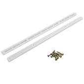 Coulisse de tiroir Suki plastique 368 mm blanc