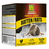 Fanga B + bloc P rats KB Home Defense 15x 20 g