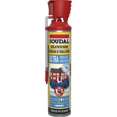 Mousse PU isolation ultra Soudal 600 ml