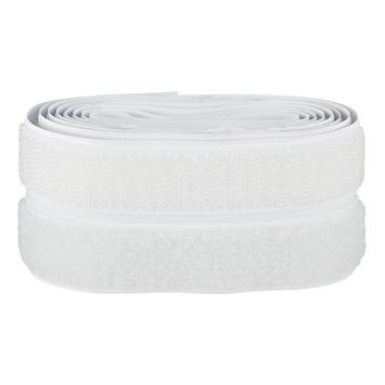 Ruban adhésif scratch Fix-O-Moll 60 cm x 20 mm blanc