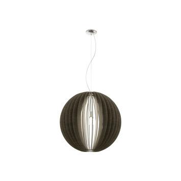 Eglo hanglamp Cossano E14 40 W hout model 2